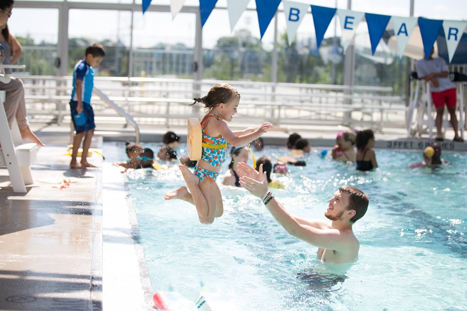 Delphi Boston summer camp, swimming lessons