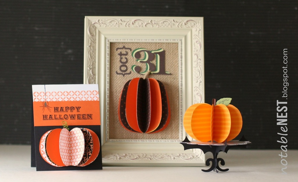Paper+Honeycomb+Shapes+for+Halloween+Crafts
