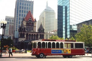 trolley and harbor cruise tour