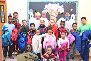Delphi Boston Students Collected Jackets for Anton's Coat Drive